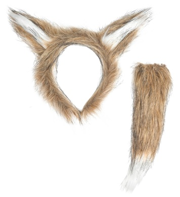 FOX (ears, tail)