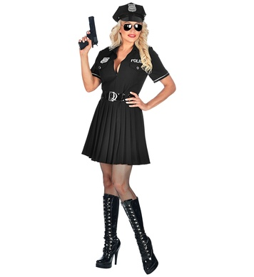 POLICE OFFICER (dress, belt)