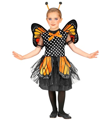 BUTTERFLY (tutu dress, wings, antennas) Childrens