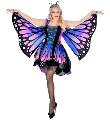 BUTTERFLY (tutu dress, wings, antennas)