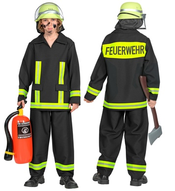 GERMAN FIREFIGHTER (coat, pants) Childrens