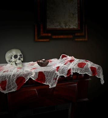 BLOODY GAUZE FABRIC 180x80 cm