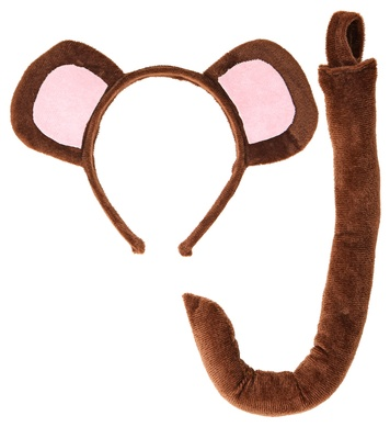 MONKEY (ears, tail)