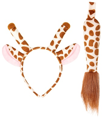GIRAFFE (ears, tail)