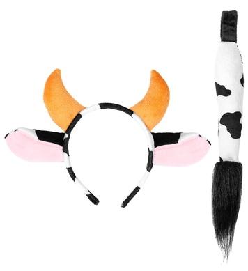 COW (ears & horns, tail)