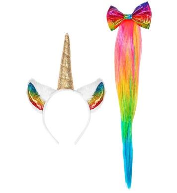 UNICORN (headpiece, tail)