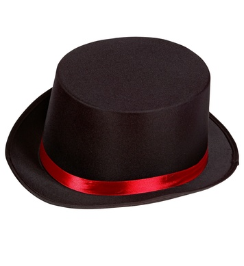 RINGMASTER TOP HAT - BLACK