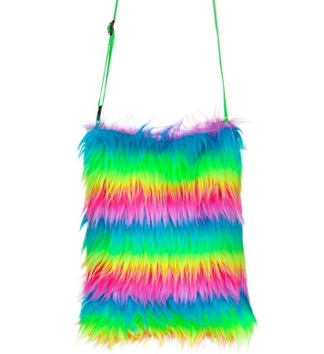 PLUSH HANDBAG - RAINBOW