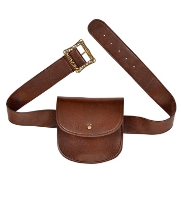 BELT WITH PURSE leatherlook