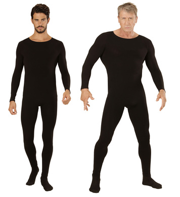 BLACK BODYSUIT - MENS