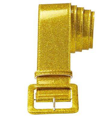 GOLD GLITTER BELT 120 cm