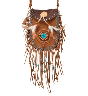 AUTHENTIC NATIVE INDIAN SHOULDER BAG