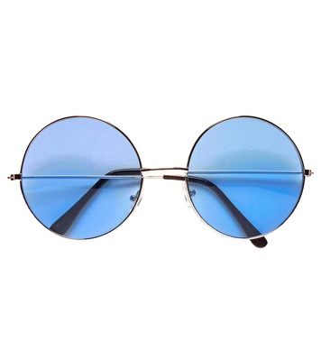 70s GLASSES WITH BLUE LENSES