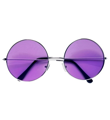 70s GLASSES WITH PURPLE LENSES