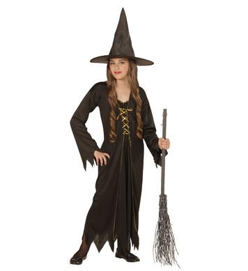 BLACK WITCH (dress hat) Childrens