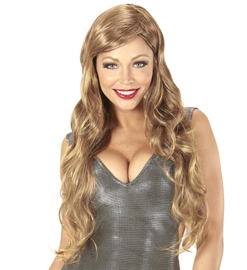 DIVA WIG in polybag - BROWN