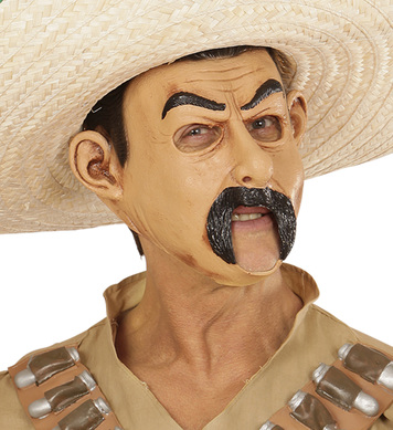 MEXICAN 3/4 OPEN MOUTH MASK