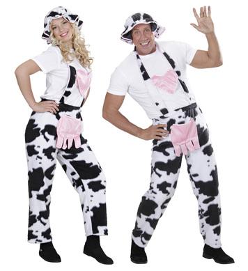 COW OVERALLS (overalls hat)