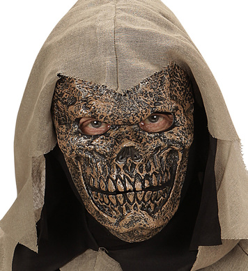 DEATH WARLORD HALF FACE FOAM MASK - CHILD
