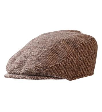 FLAT CAP WITH PEAK