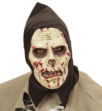 DARKNESS ZOMBIE HOODED FOAM MASK - CHILD