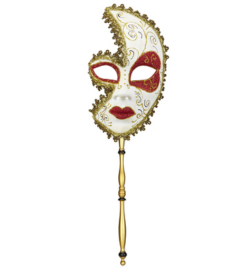 DELUXE MARQUISE DE SADE MASK ON A STICK