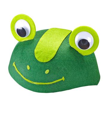 Felt FROG CAP