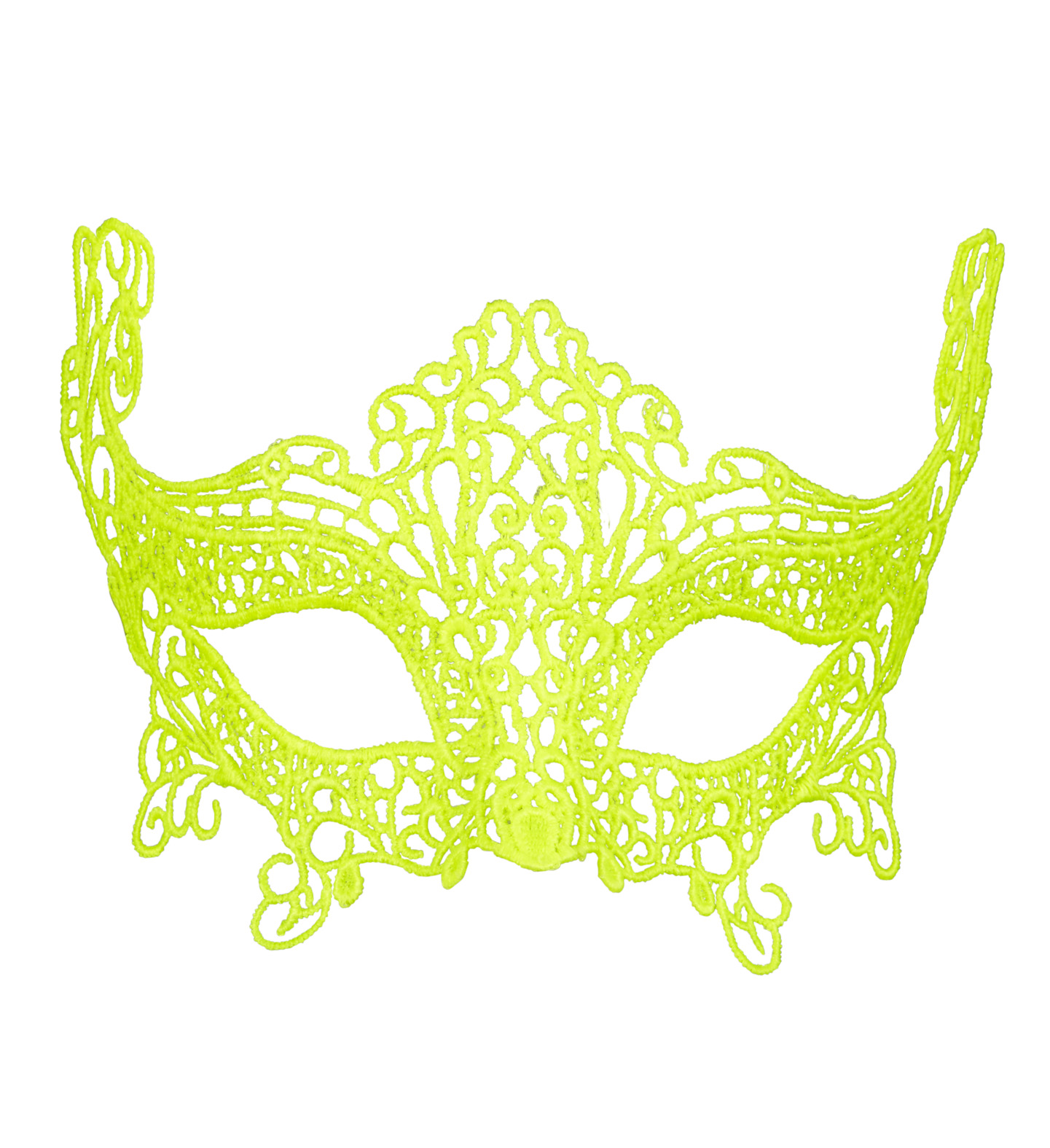 Neon Lace Eyemask Fancy Dress