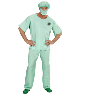 EMERGENCY ROOM DOCTOR (shirt pants hat face mask)