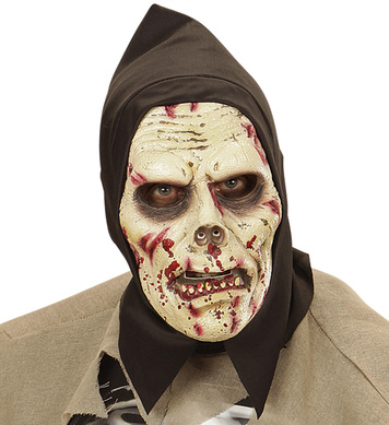 DARKNESS ZOMBIE HOODED FOAM MASK