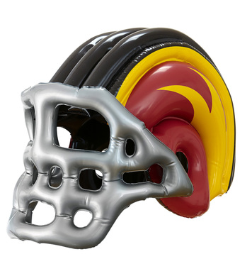 INFLATABLE FOOTBALL HELMET - CHILD SIZE