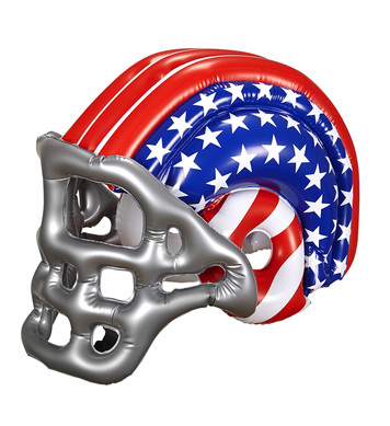 INFLATABLE FOOTBALL USA HELMET - CHILD SIZE