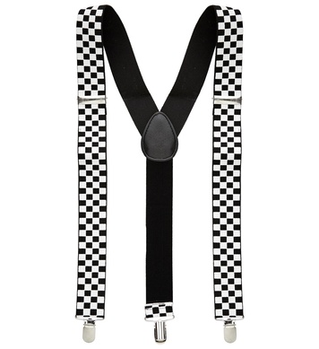 CHEQUERED BRACES