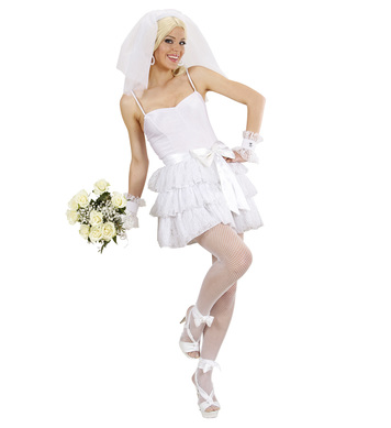 BRIDE (top skirt belt cuffs veil)