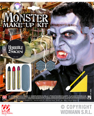 MONSTER MAKE-UP SET WITH ACCESSORIES