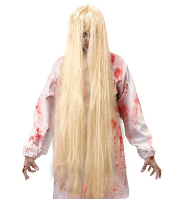 BLONDE EVIL SPIRIT WIG - 100 CM - in polybag