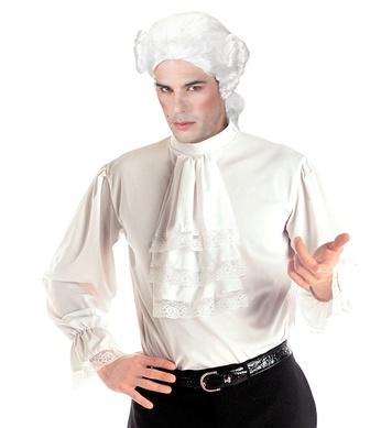 CHARACTER SHIRT WHITE (with lace jabot and cuffs)