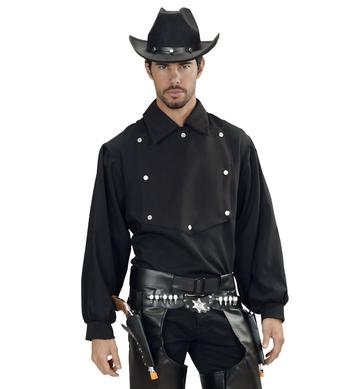 COWBOY SHIRT - BLACK