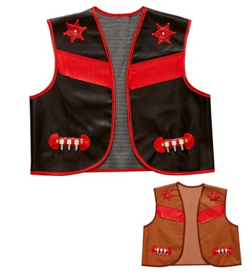 BUFFALO BILL VEST - CHILD SIZE