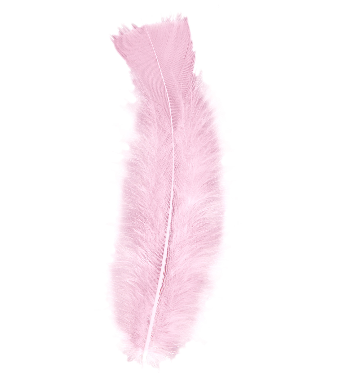 Bag Of Feathers Light Pink Hobby Craft