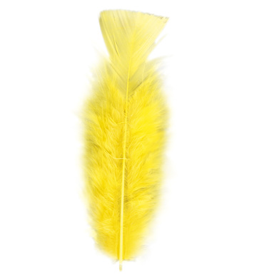BAG OF FEATHERS YELLOW