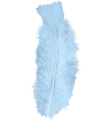BAG OF FEATHERS TURQUOISE