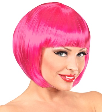 CHANEL WIG - HOT PINK