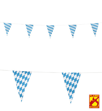 BAVARIA FLAG GARLAND 6m