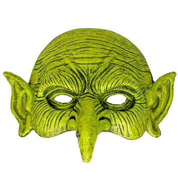 CHINLESS WITCH FOAM LATEX MASK