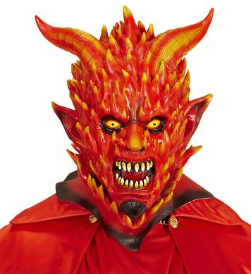FLAMING DEVIL MASK