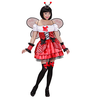 LADYBUG (dress cuffs wings antennas)