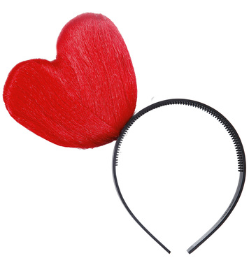 HEART HEADBANDS - RED