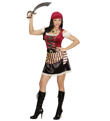 PIRATE GIRL (dress bandana belt)