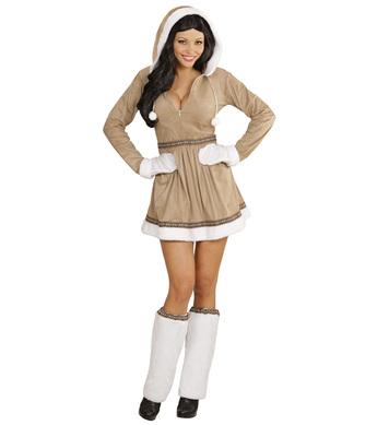 ESKIMO GIRL (dress legwarmers gloves)